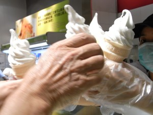 Guangzhou: Soft ice-cream